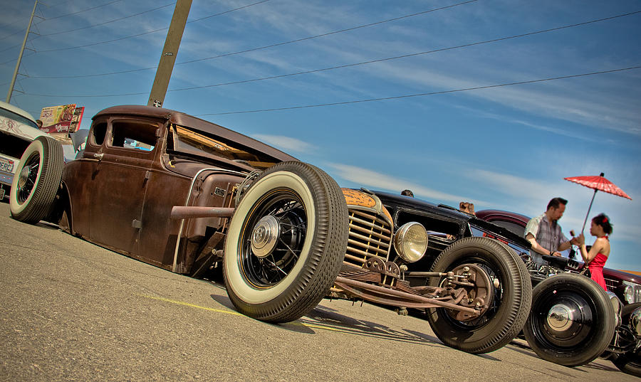 Hot Rod Photograph - Frozen In Time by Merrick Imagery