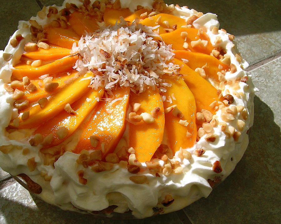 Frozen Molokai Mango Mele Pie by James Temple