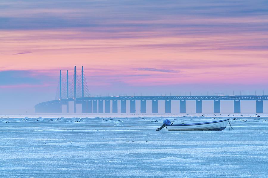 Winter Photograph - Frozen Sea by Jacek Oleksinski