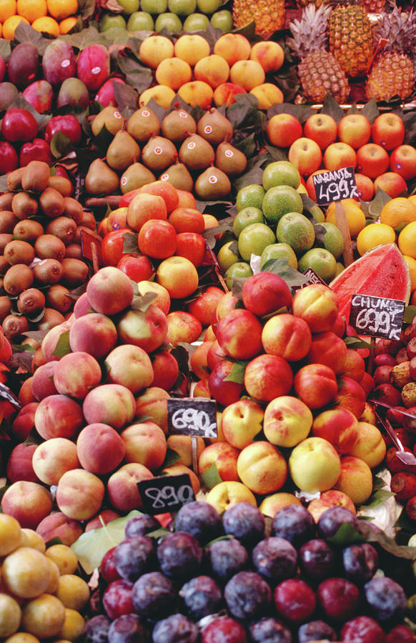 Fruit At La Boqueria Market Photograph by Oliver Strewe