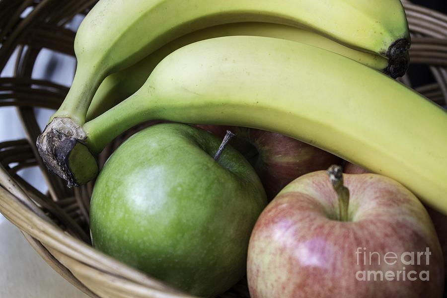 Fruit Photograph - Fruit Basket by Arlene Carmel