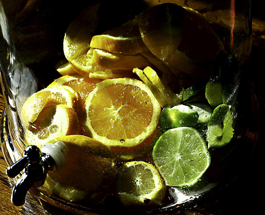 Lemon Photograph - Fruit Drink by Camille Lopez