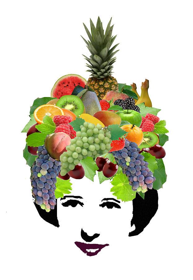 Fruit Photograph - Fruit Lady by Jennifer Schwab