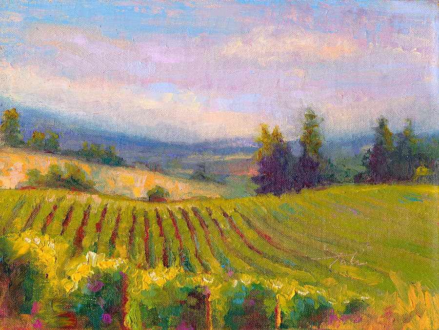 Fruit of the Vine - Sokol Blosser Winery by Talya Johnson