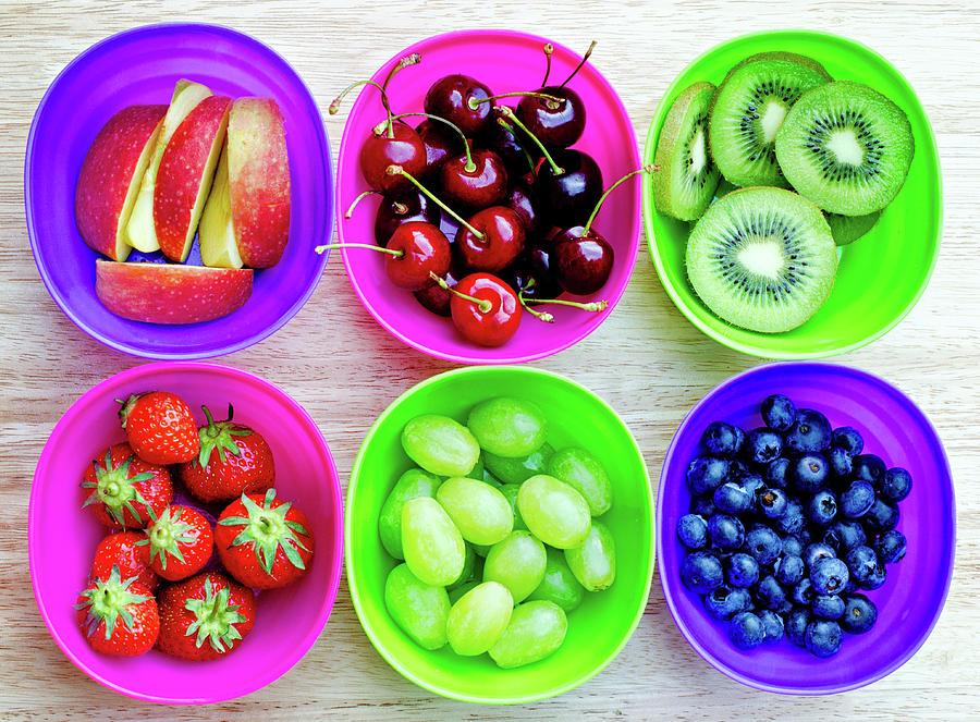 Fruit Pots Photograph by Michelle Mcmahon