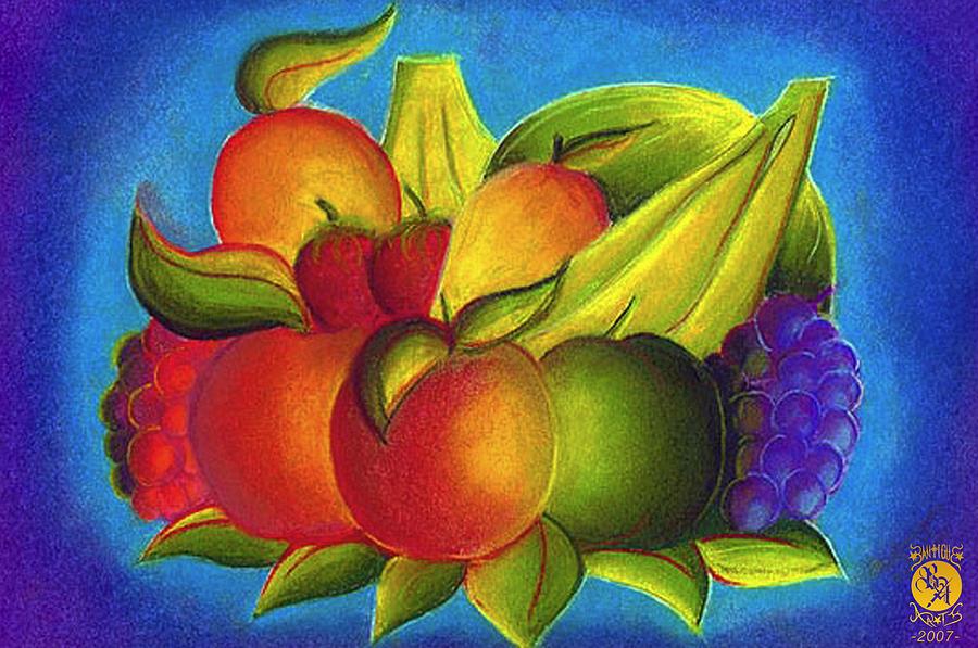 Illustration Painting - Fruit by Richard Bantigue
