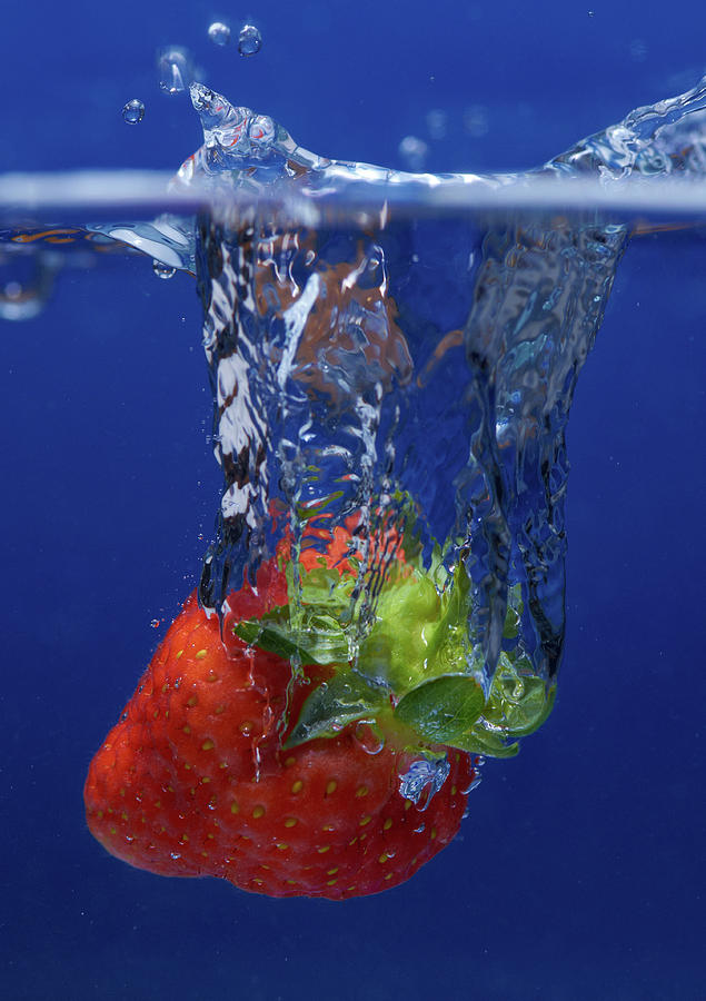 Fruit Splash Studio Shoot Photograph by Digital Camera Magazine