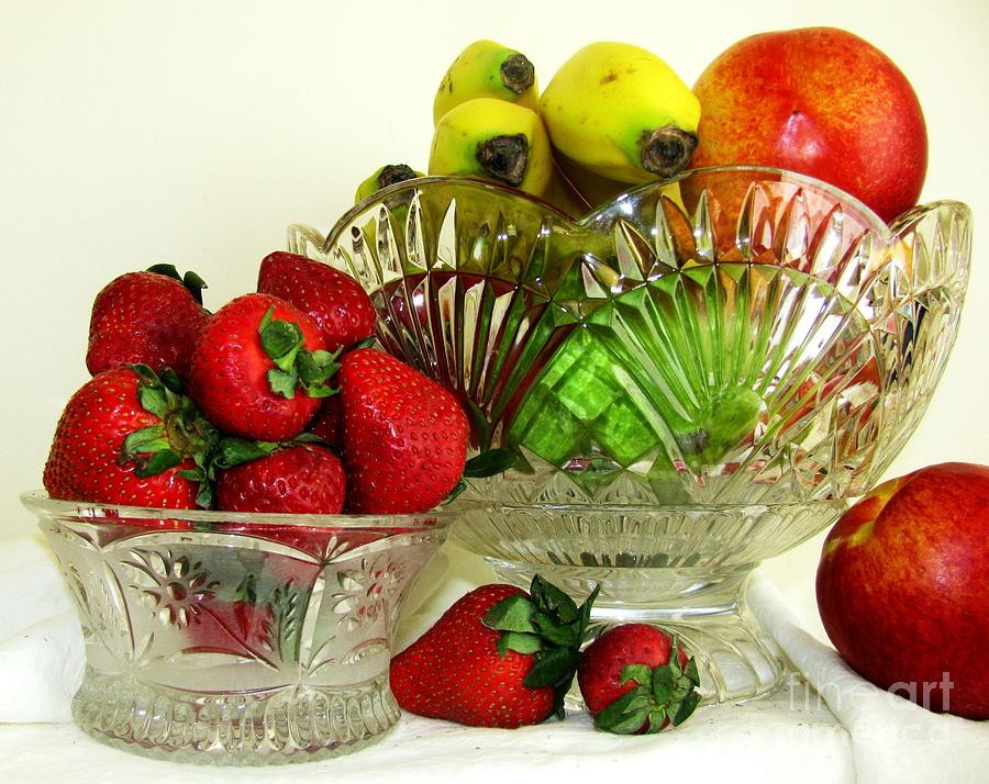 Fruit Photograph - Fruit Still Life 1 by Margaret Newcomb