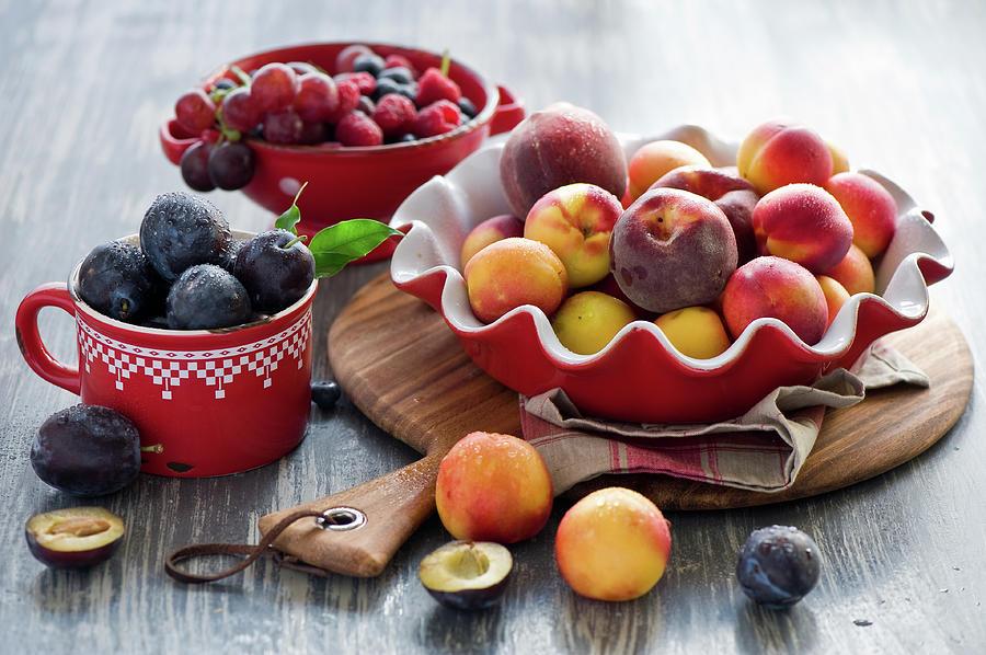 Fruits Photograph by Verdina Anna
