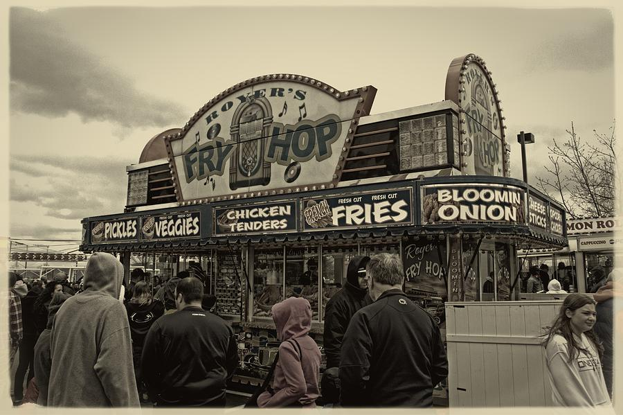 Carnival Photograph - Fry Hop by Tom Gari Gallery-Three-Photography
