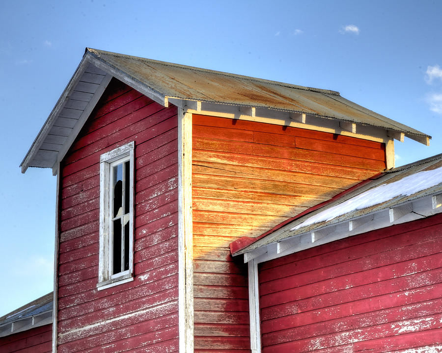 Ft Photograph - Ft Collins Barn 13502 by Jerry Sodorff