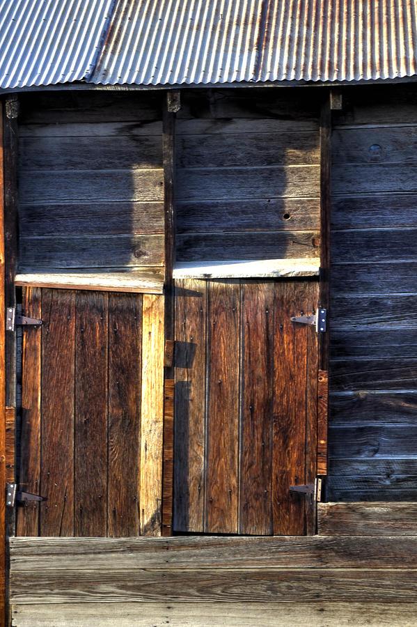 Ft Collins Barn Tin 13547 Photograph