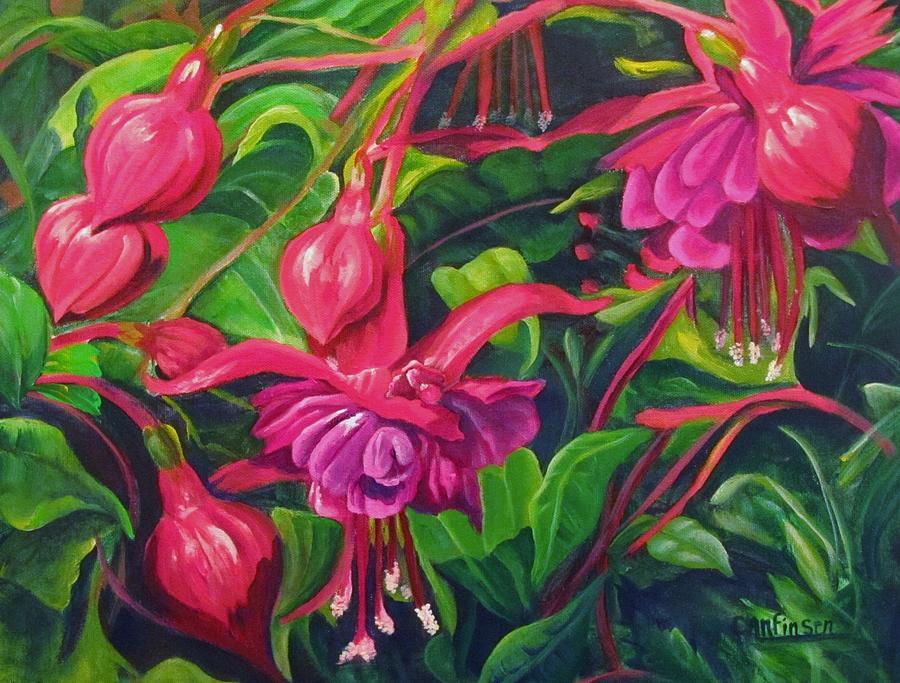 Fuchsia Fantastic by Carol Allen Anfinsen