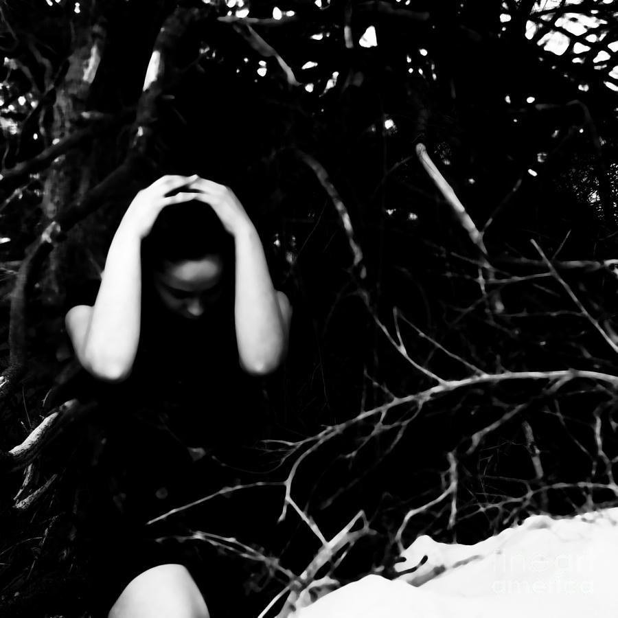Black Photograph - Fuck by Jessica Shelton