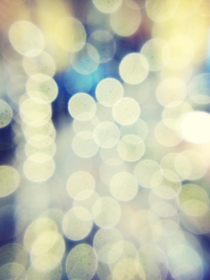 Full Frame Shot Of Defocused Lights Photograph by Alex Ortega / Eyeem