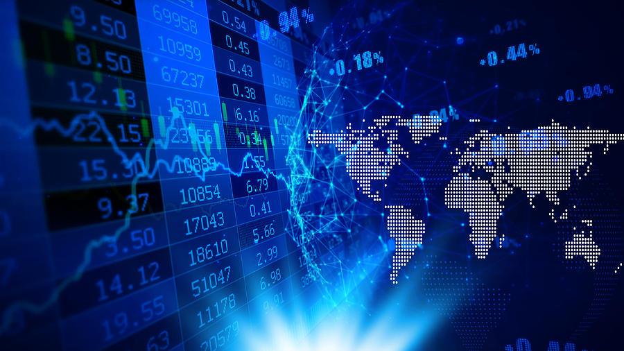 Full Frame Shot Of Stock Market Data Photograph by Chuanchai Pundej / EyeEm