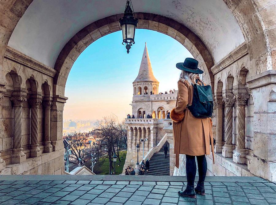 Full Length Of Woman Standing In Historic Building Photograph by dor Dorottya / EyeEm