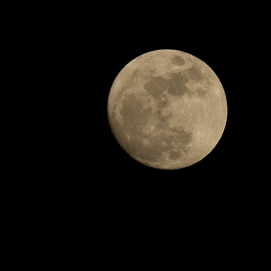 Full Moon 1-15-2014 by Mark Steven Houser