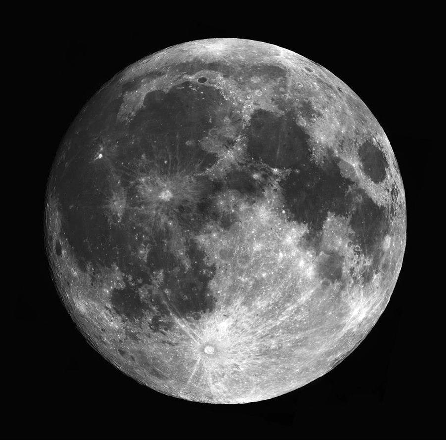 Full moon close up photograph by jennifer totten - Moon close up ...