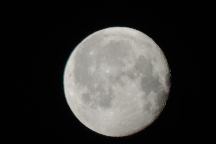 Full Moon Photograph by Luiz Vaz