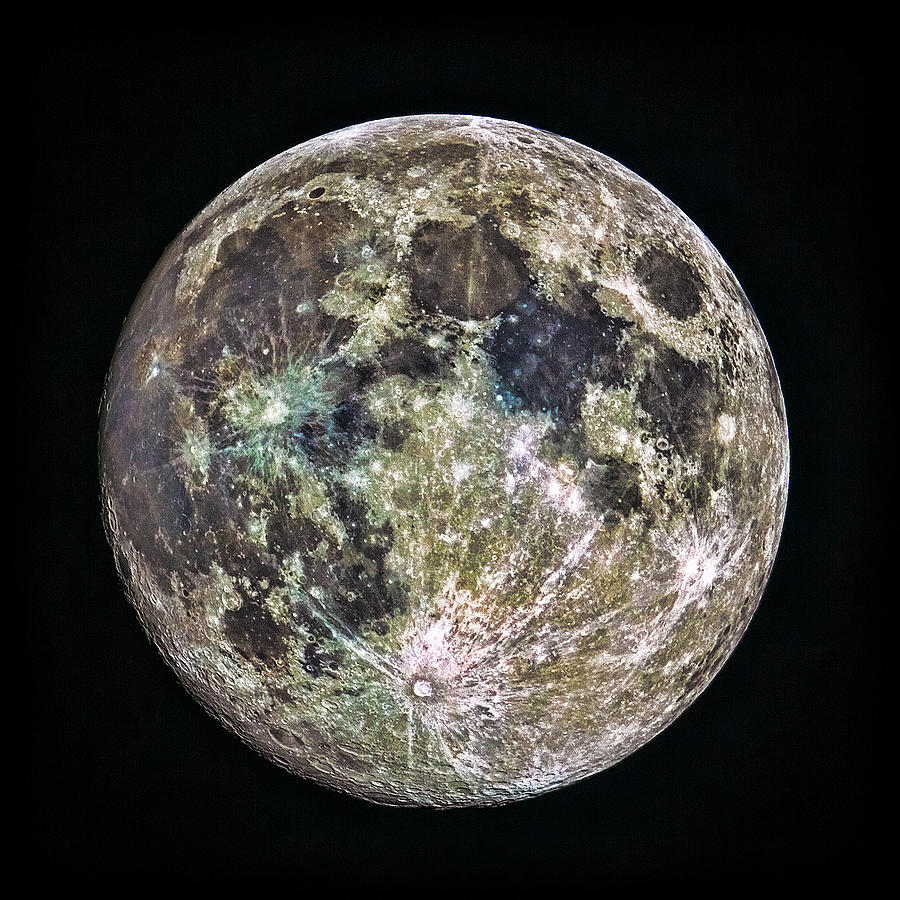 Canon Photograph - Full Moon by Todd Ryburn