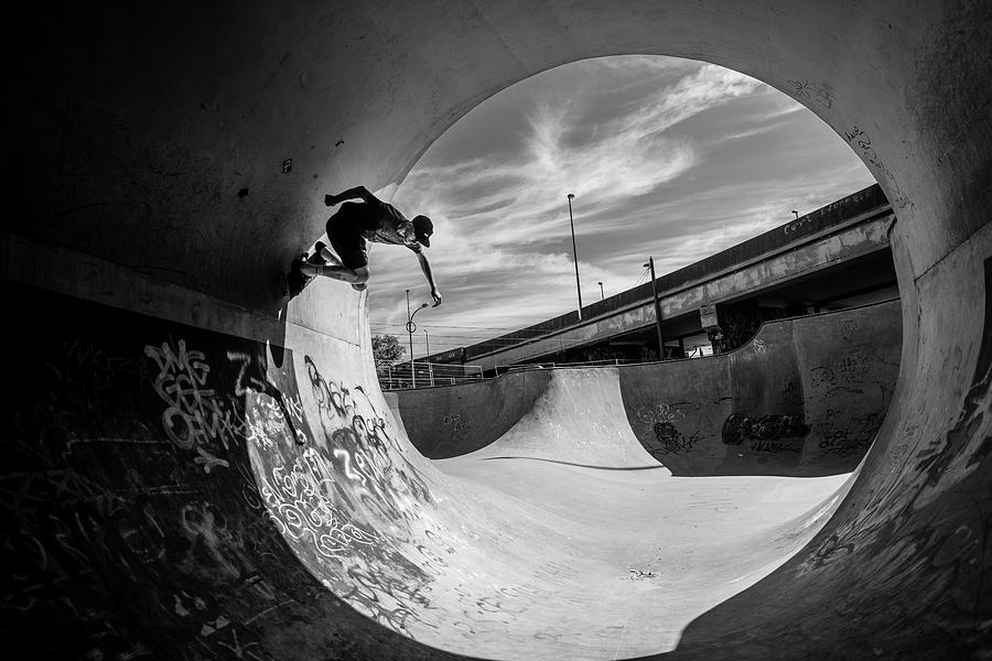 Antwerp Photograph - Full Pipe @ Sam Taeymans by Eric Verbiest