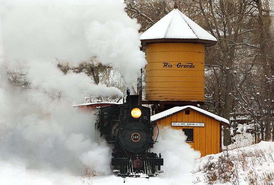 Colorado Railroad Museum Photograph - Full Steam Ahead by Ken Smith