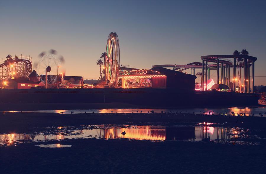 Santa Cruz Beach Boardwalk Photograph - Fun And Games by Laurie Search