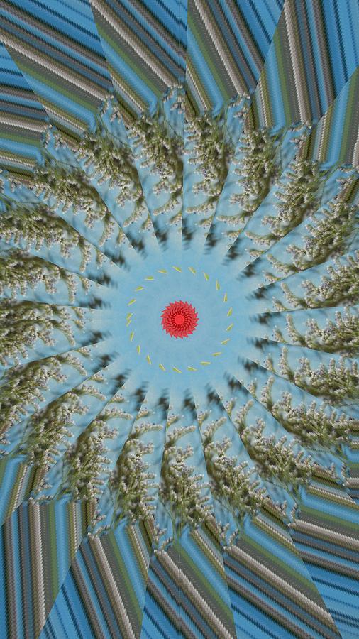 Kaleidoscope Digital Art - Fun by Bobbie Barth