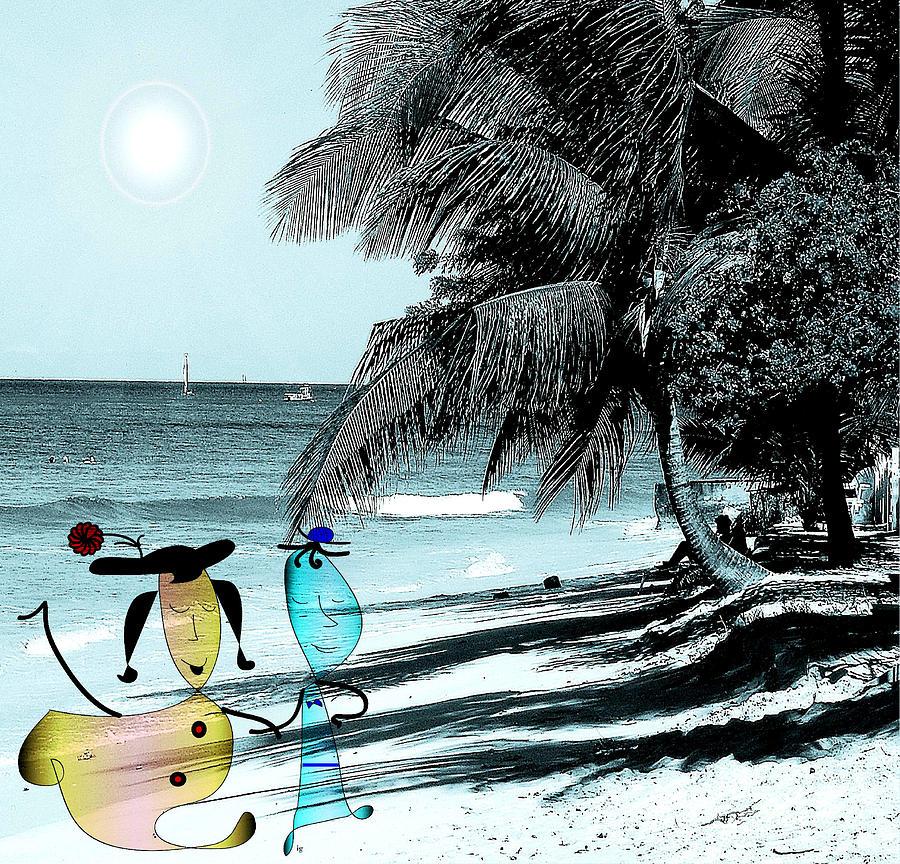 Beach Photograph - Fun Time by Iris Gelbart