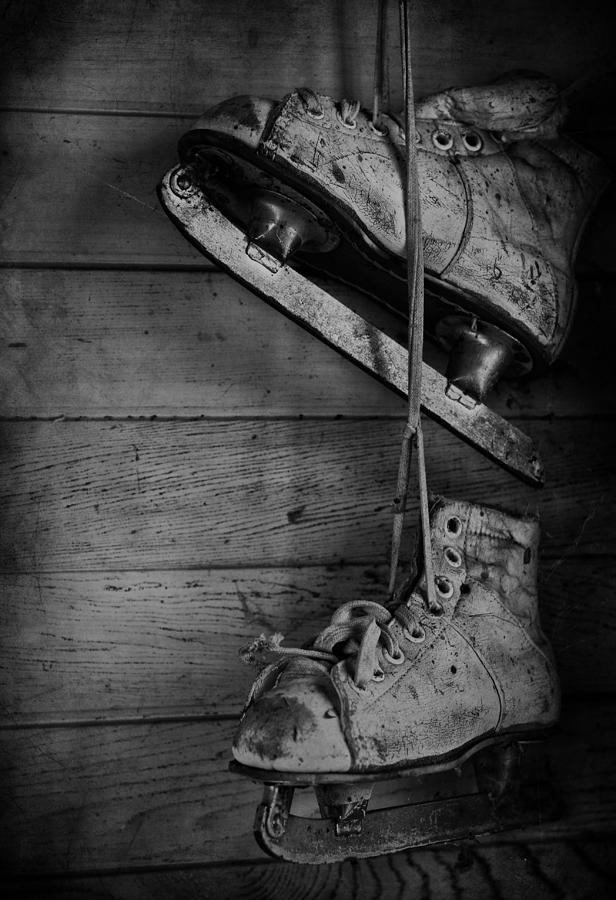 Skates Photograph - Fun With Father  by The Artist Project