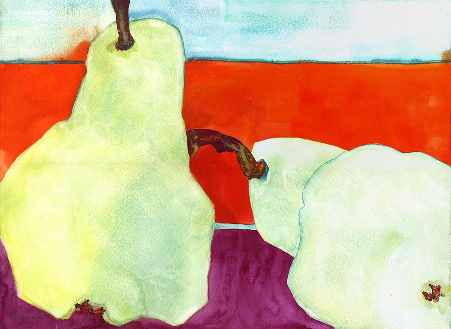 Painting Painting - Fundamental Pears Still Life by Blenda Studio
