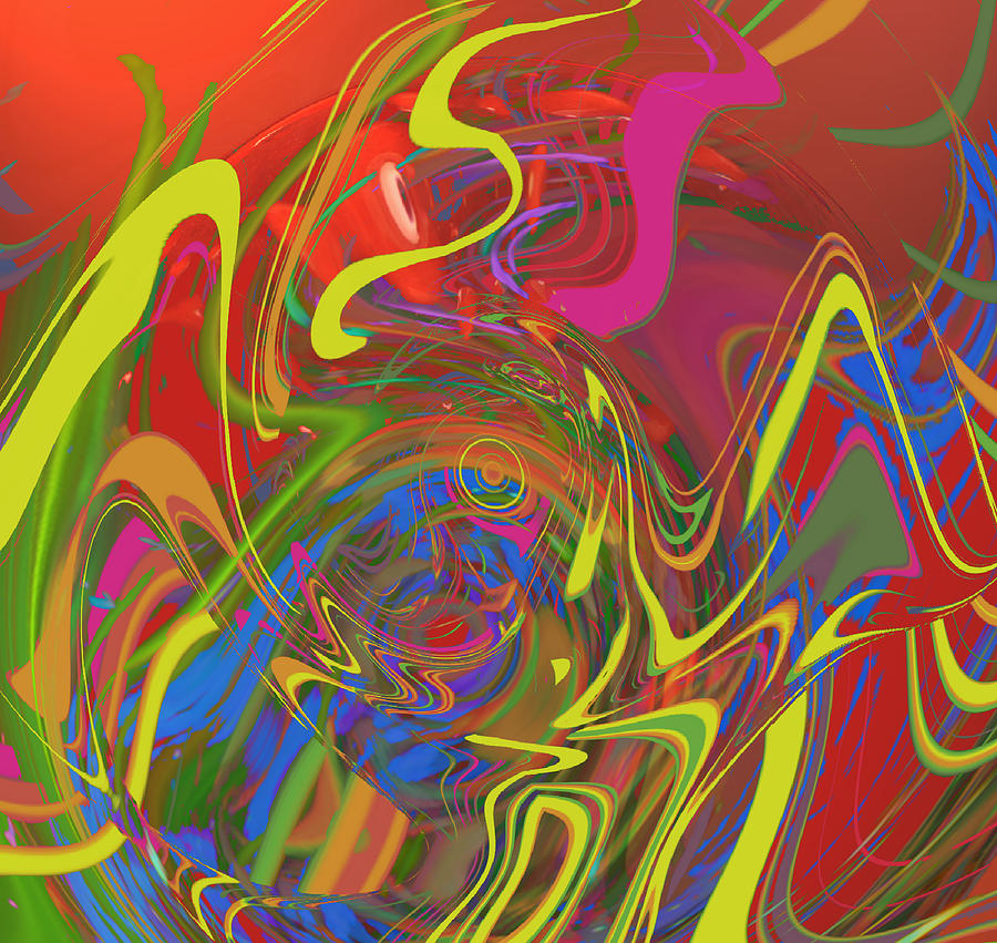 Funky Digital Art - Funk The Funk Out Of It by Kevin Caudill
