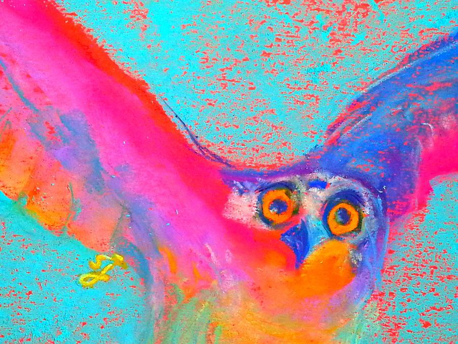 Funky Osprey Bird in Flight Art Prints by Sue Jacobi