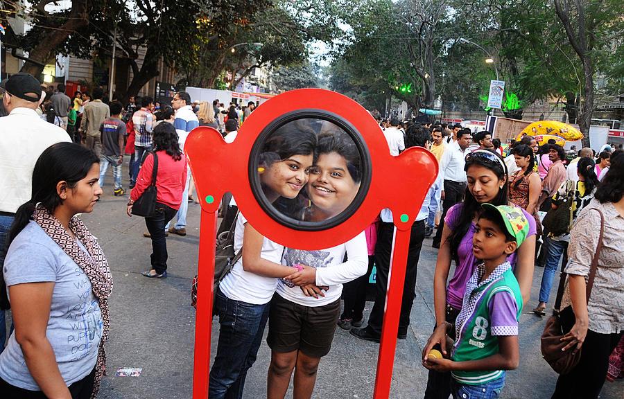 Fair Photograph - Funny Duo by Money Sharma