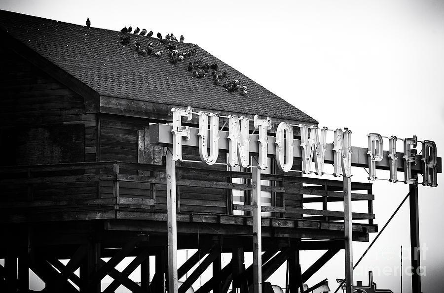 Funtown Pier Photograph - Funtown Pier by John Rizzuto