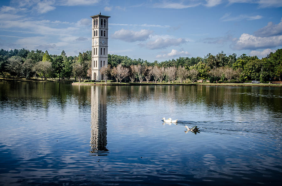 Belltower Photograph - Furman University Belltower by Thomas Taylor