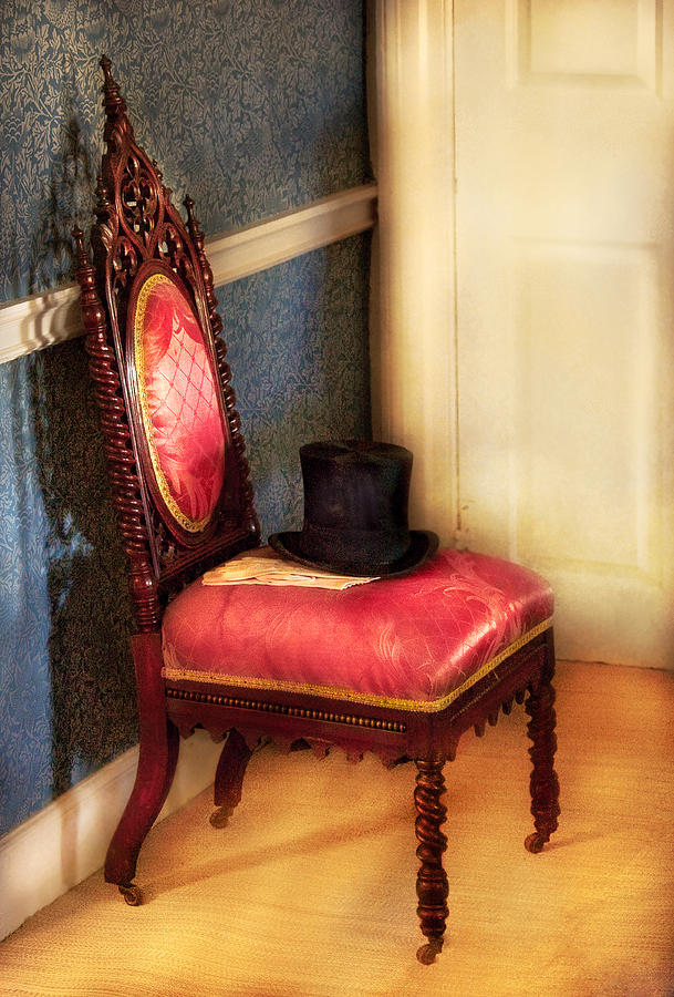 Savad Photograph - Furniture - Chair - Ready For The Ball by Mike Savad
