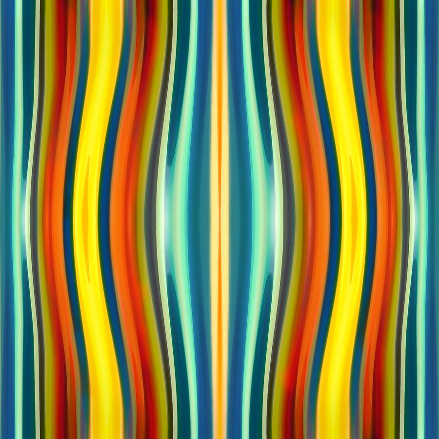 Fury Painting - Fury Pattern 1 by Amy Vangsgard