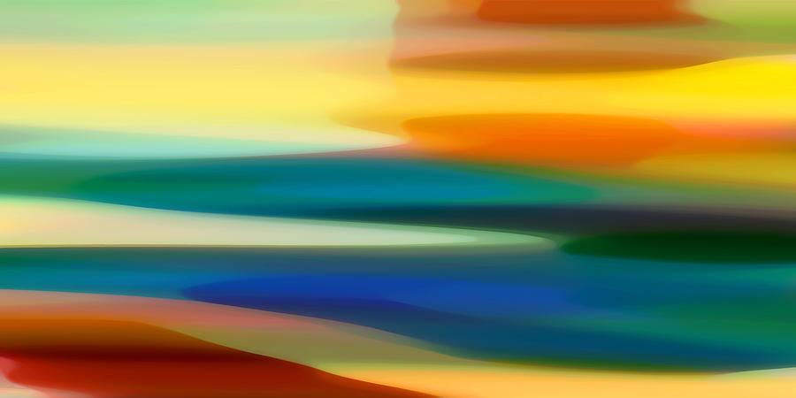 Fury Painting - Fury Seascape II by Amy Vangsgard