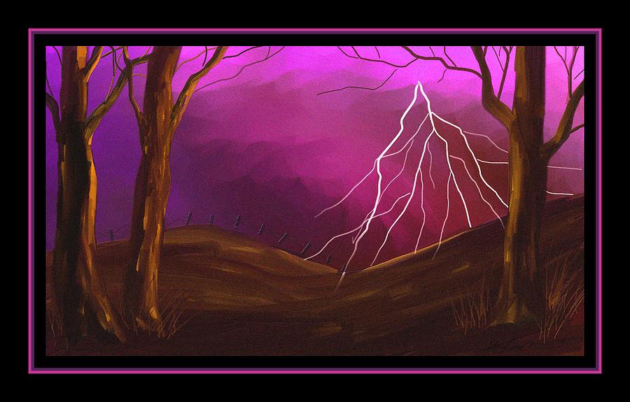 Lightning Painting - Fury by Steven Lebron Langston