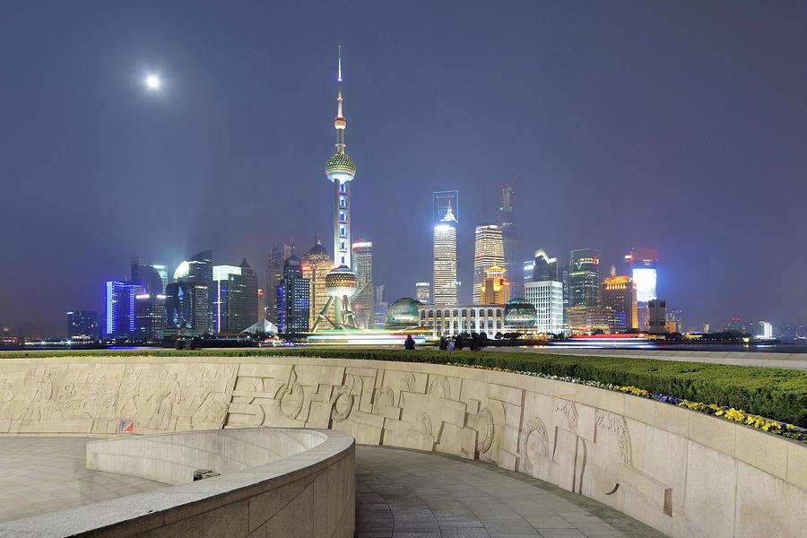 Future City Photograph by Wei Fang