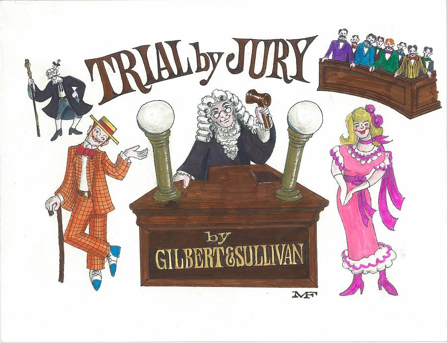 Image result for trial by jury gilbert and sullivan