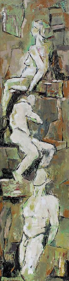 Nude Painting - G Flat Minor by Becky Kim