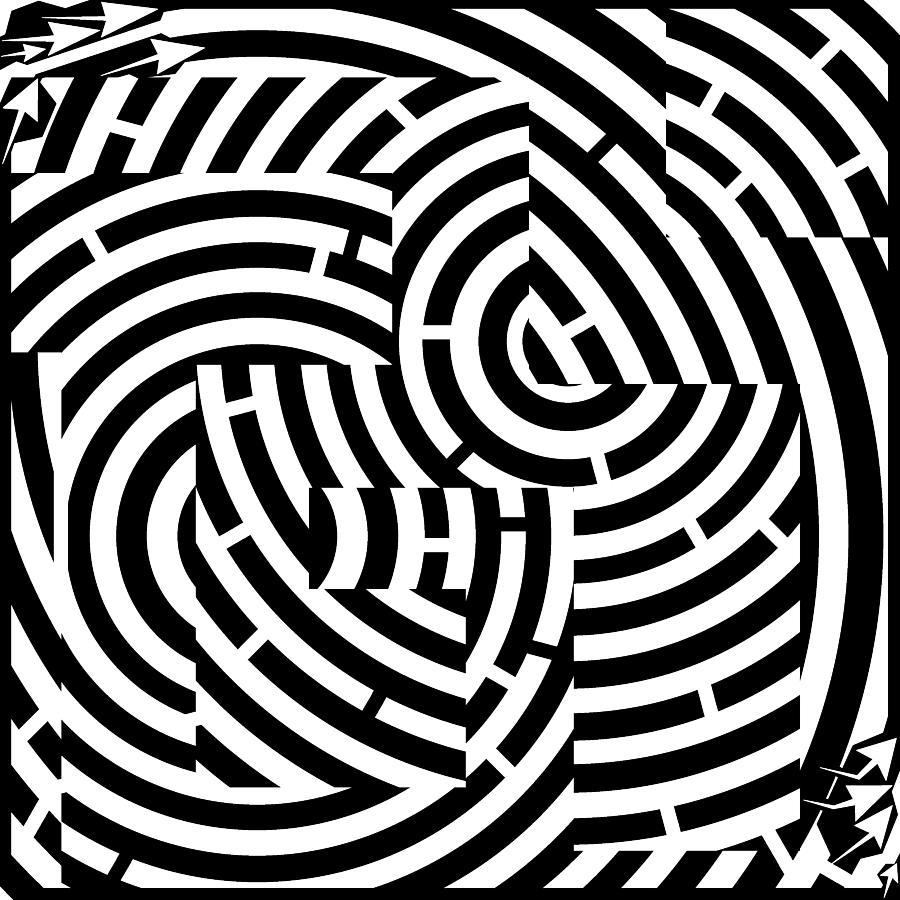 easy optical illusions - 888×888