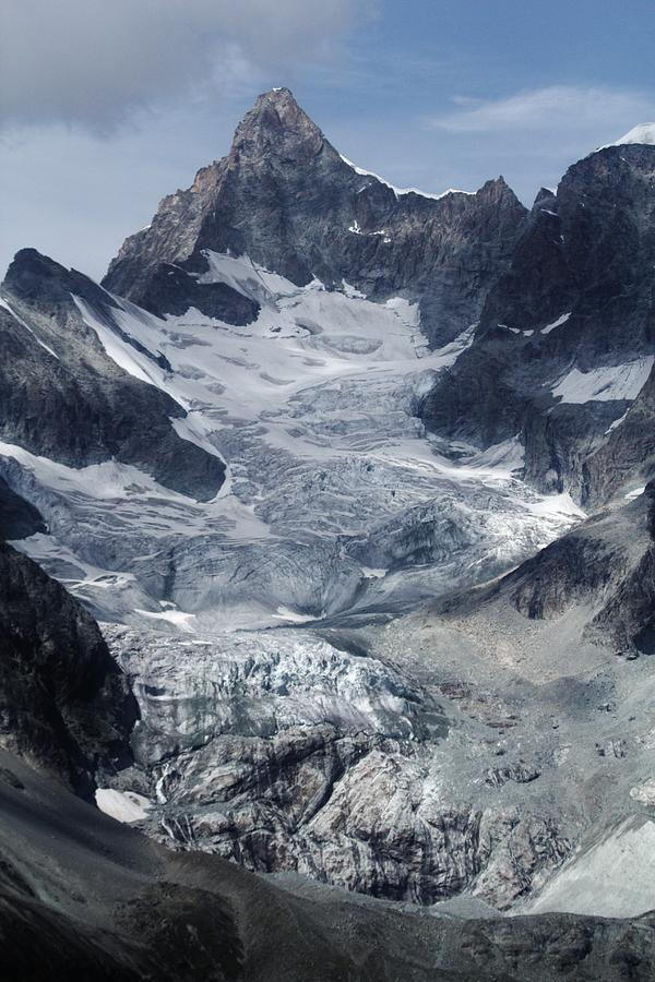 Switzerland Photograph - Gabelhorngletscher by David Broome