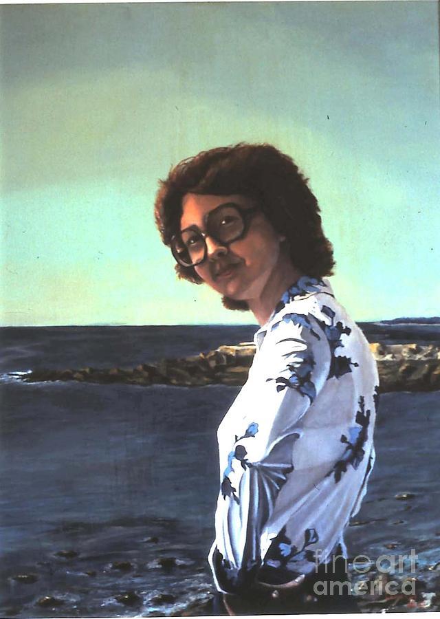 Gail At Bar Harbor Painting