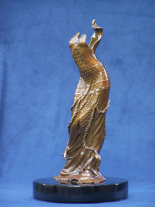 Figure Sculpture - Galadriel Fragment by Karl Sanders