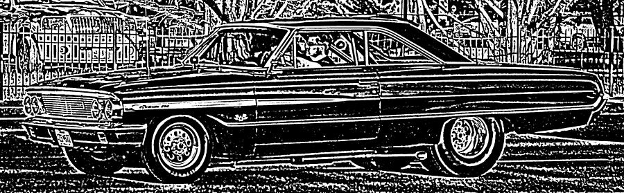 Ford Galaxie 500 Photograph - Galaxie 500 by Thomas  MacPherson Jr
