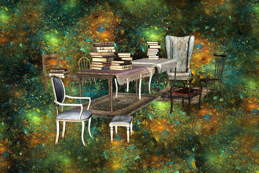 Galaxy Booking Digital Art